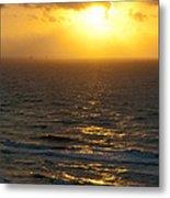 Sunrise On The Gulf Metal Print by Barbara Shallue