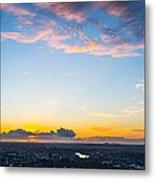 Sunrise On The Horizon Metal Print