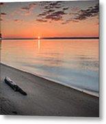 Sunrise On The Potomac Metal Print
