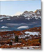 Sunrise On The San Juans Metal Print