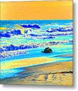 Sunrise On Tybee Island - Photopower 169 Metal Print