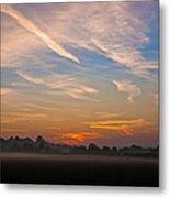 Sunrise Over Bartonsham Metal Print