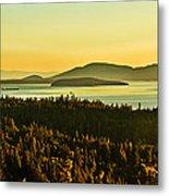 Sunrise Over Bellingham Bay Metal Print