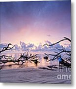Sunrise Over Blackrock Beach Metal Print