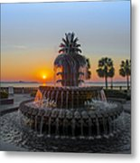 Sunrise Over Charleston Metal Print