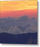 Sunrise Over Clingmans Dome, Great Metal Print