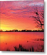 Sunrise Over Coongee Lakes Metal Print