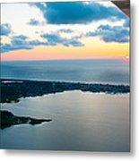 Sunrise Over Dewey Beach Metal Print