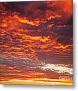 Sunrise Over Ireland Metal Print