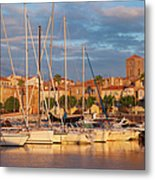 Sunrise Over La Ciotat France Metal Print