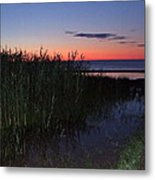 Sunrise Over Lake Huron Metal Print