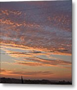 Sunrise Over Lake Manistee Metal Print