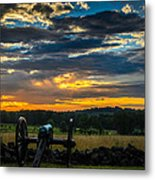 Sunrise Over Little Round Top Metal Print