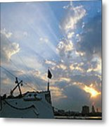 Sunrise Over Philadelphia  Metal Print