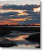 Sunrise Over Point Pelee Provincial Park Metal Print