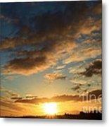 Sunrise Over Port Angeles Metal Print