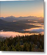 Sunrise Over The Adirondack High Peaks Metal Print