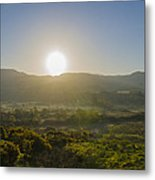 Sunrise Over The Bluestack Mountains - Donegal Ireland Metal Print