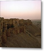 Sunrise Over The Fort Metal Print