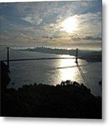 Sunrise Over The Golden Gate Metal Print