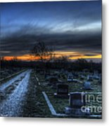 Sunrise Over The Grave Metal Print