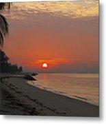 Sunrise Over The Horizon Metal Print