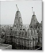 Sunrise Over The Jain Temples Metal Print
