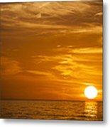 Sunrise Over The Sea Of Cortez Metal Print