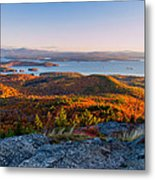 Sunrise Over Winnipesaukee. Metal Print