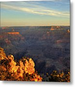 Sunrise Over Yaki Point At The Grand Canyon Metal Print