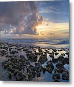 Sunrise Panorama Metal Print
