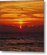 Sunrise Peek 2 12/3 Metal Print