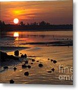 Sunrise Photograph Metal Print