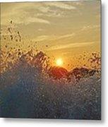 Sunrise Splash 1 9/05 Metal Print