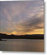 Sunrise Temple Bar Lake Mead Metal Print