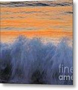 Sunrise Wave Metal Print