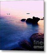 Sunrise2 Boulders Beach Cape Town Metal Print