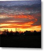 Sunset 02 28 13 Metal Print