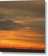 Sunset 1013 Metal Print by David Dehner
