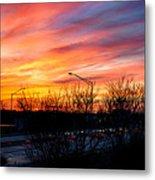 Sunset 11-14-13 2 Metal Print