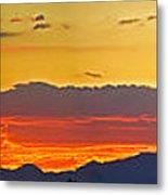 Sunset 20130926 Metal Print