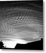 Sunset Above The Compound Metal Print
