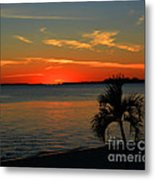 Sunset Afterglow Metal Print