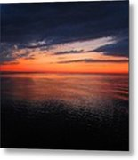 Sunset Afterglow Metal Print
