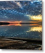 Sunset And Shale Metal Print