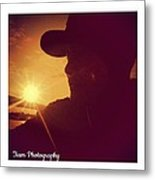 Sunset Art  Metal Print