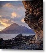 Sunset At Algoll Scotland Metal Print