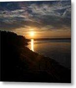 Sunset At Cabot Beach Metal Print