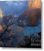 Sunset At Clam Pass Metal Print