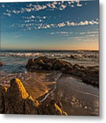 Sunset At Crystal Cove 12 Metal Print